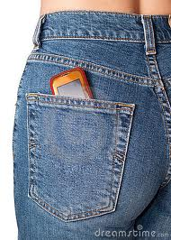 Cell Phone in Jeans