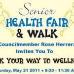 Health Fair Walk