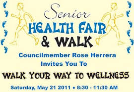 Health Fair Walk