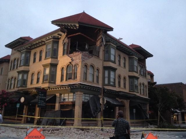 Earthquake Napa 2014