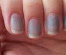 Fingernails Blue
